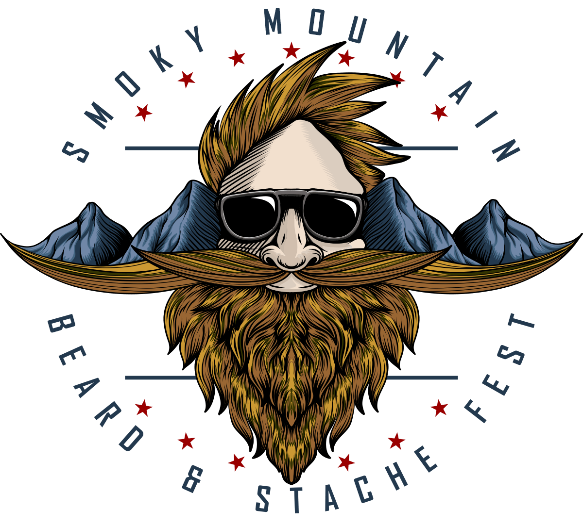 Beard and Stache Logo – C4L