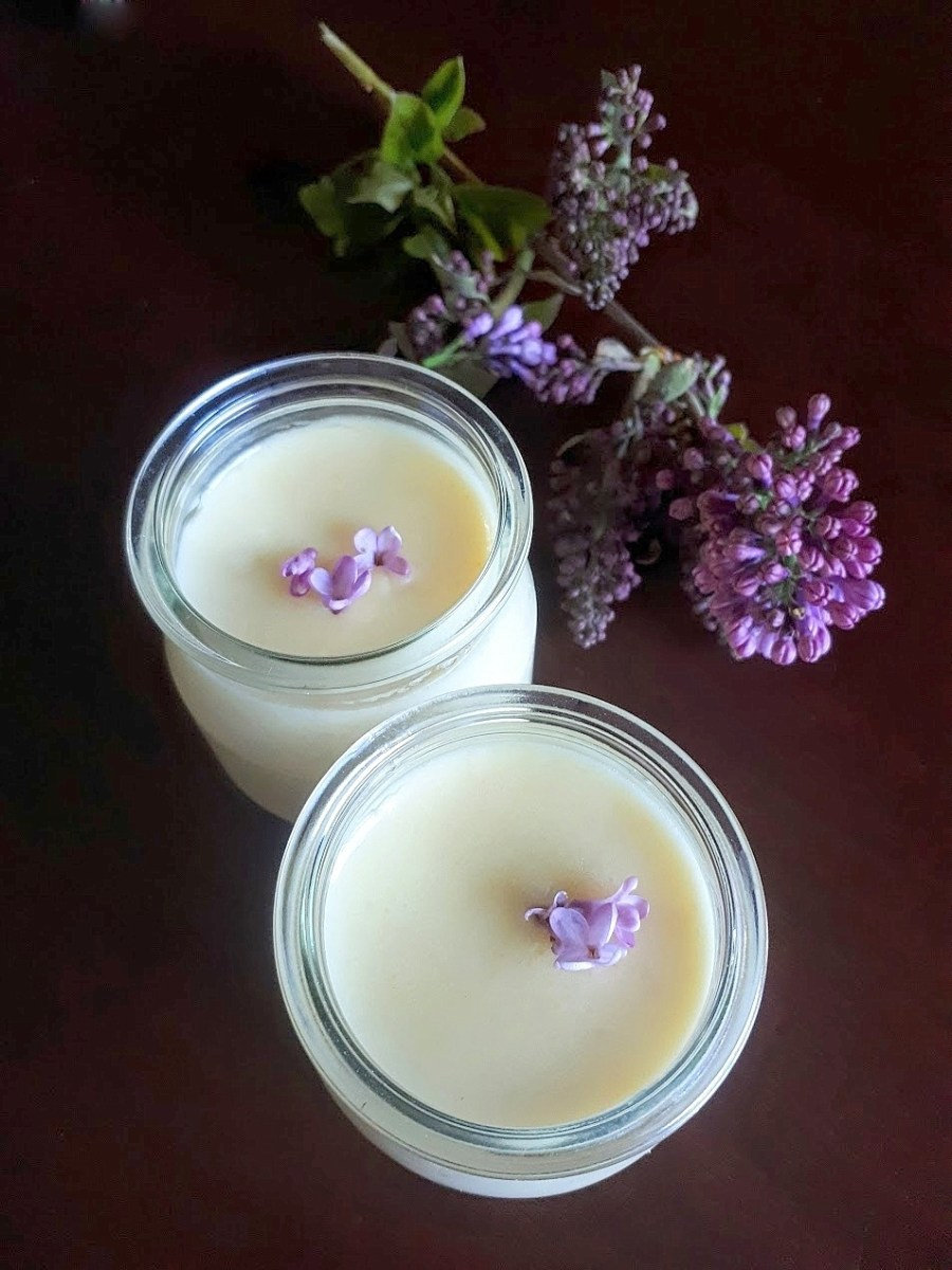 A Super Easy Old-Fashioned Creamy Dessert: Honey Lilac Posset (Or Rose, Elderflower, Lavender…)