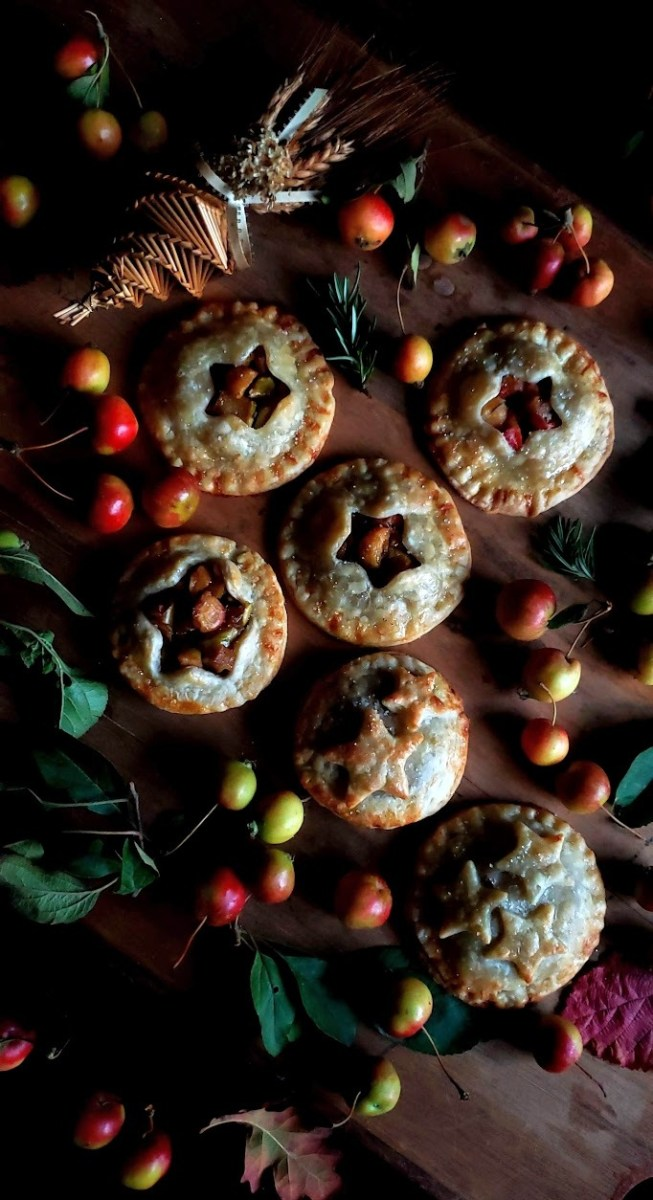 Crabapple & Rosemary Hand Pies:  Ancestral Offerings for Mabon