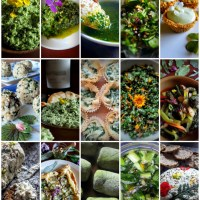 Wild Spring Greens: A Superfood Recipe Round-up!