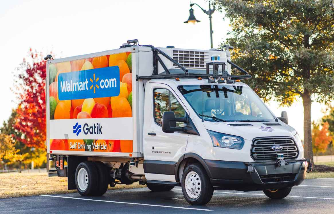 Walmart and Gatik Go Fully Driverless in Arkansas