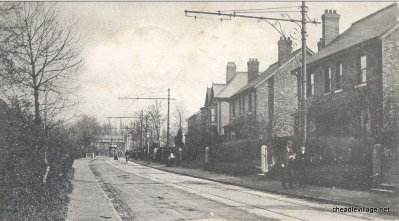 Trams down Gatley Road
