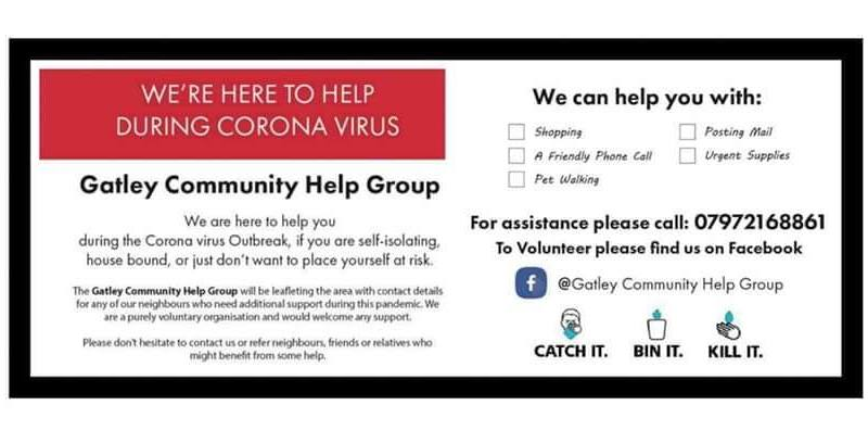 Gatley Community Help Group for Coronavirus – Amazing Work