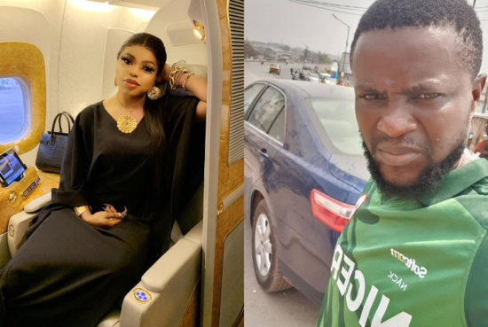 Bobrisky's driver absconds with his Mercedes Benz and over N500k in cash