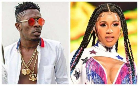 Cardi B comes for Shatta Wale on Instagram