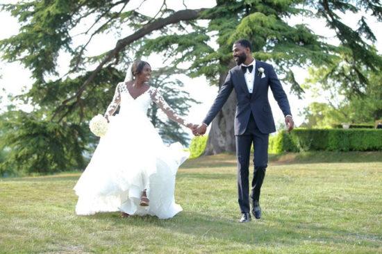 Mike Edwards celebrates 1st wedding anniversary with his wife Perri Shakes-Drayton