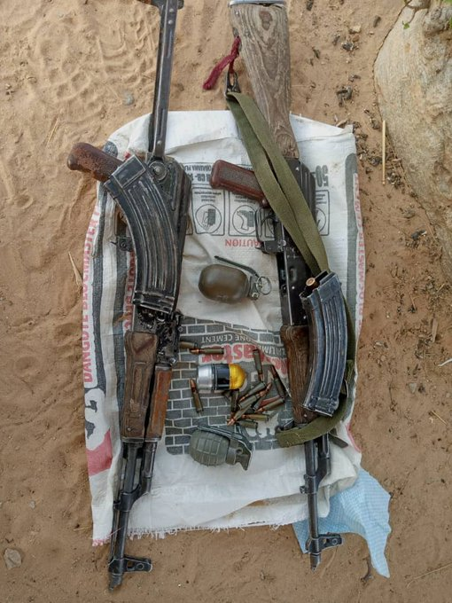 Boko Haram/ISWAP: Troops neutralise terrorists, destroy gun trucks, heavy weapons in Borno [PHOTO]
