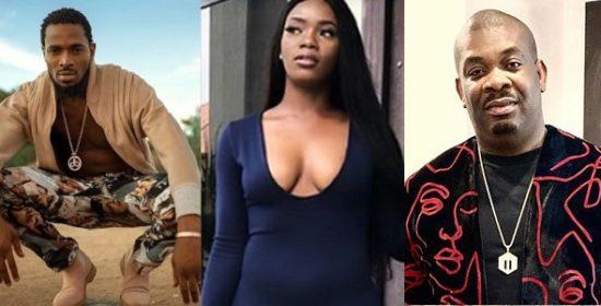 Alleged Rape: Tiwa Savage, Donjazzy, MI Abaga, Rita Dominic react to the arrest of D'banj's accuser