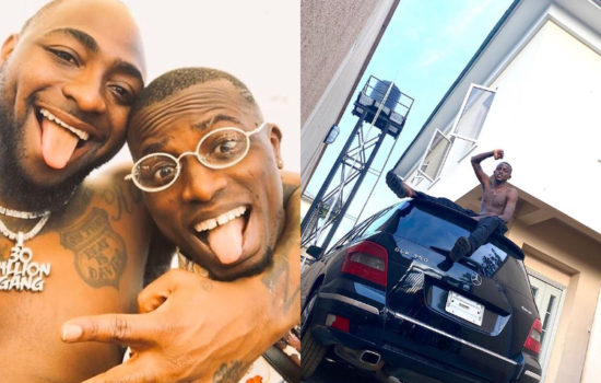 Fans shocked as Davido reportedly sends Aloma DMW out of the house he bought for DMW crew members