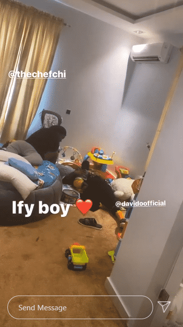 Davido and Chioma pictures with having family time with their son after breakup rumors