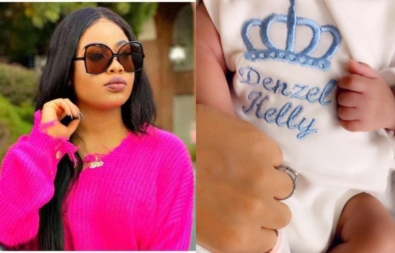 Ex-BBNaija housemate, Nina welcomes first child in US