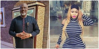 Dino Melaye reacts after socialite Roman Goddess visited him at the hotel and called him 'uncle'
