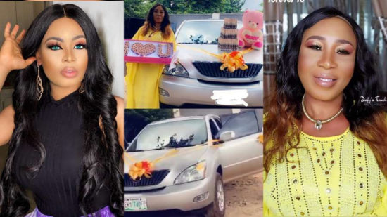 Nina buys her mother a car for her 60th birthday (video)