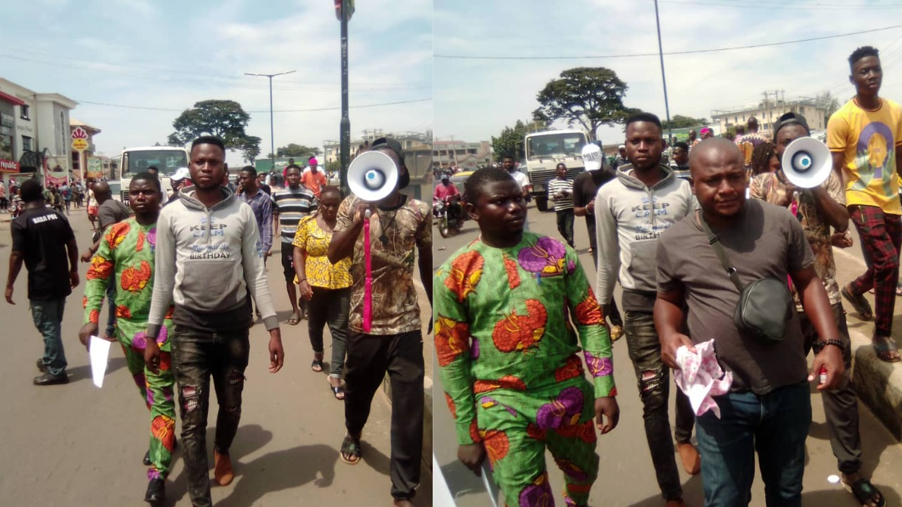End SARS: Protests continue as youths block major roads in Ibadan
