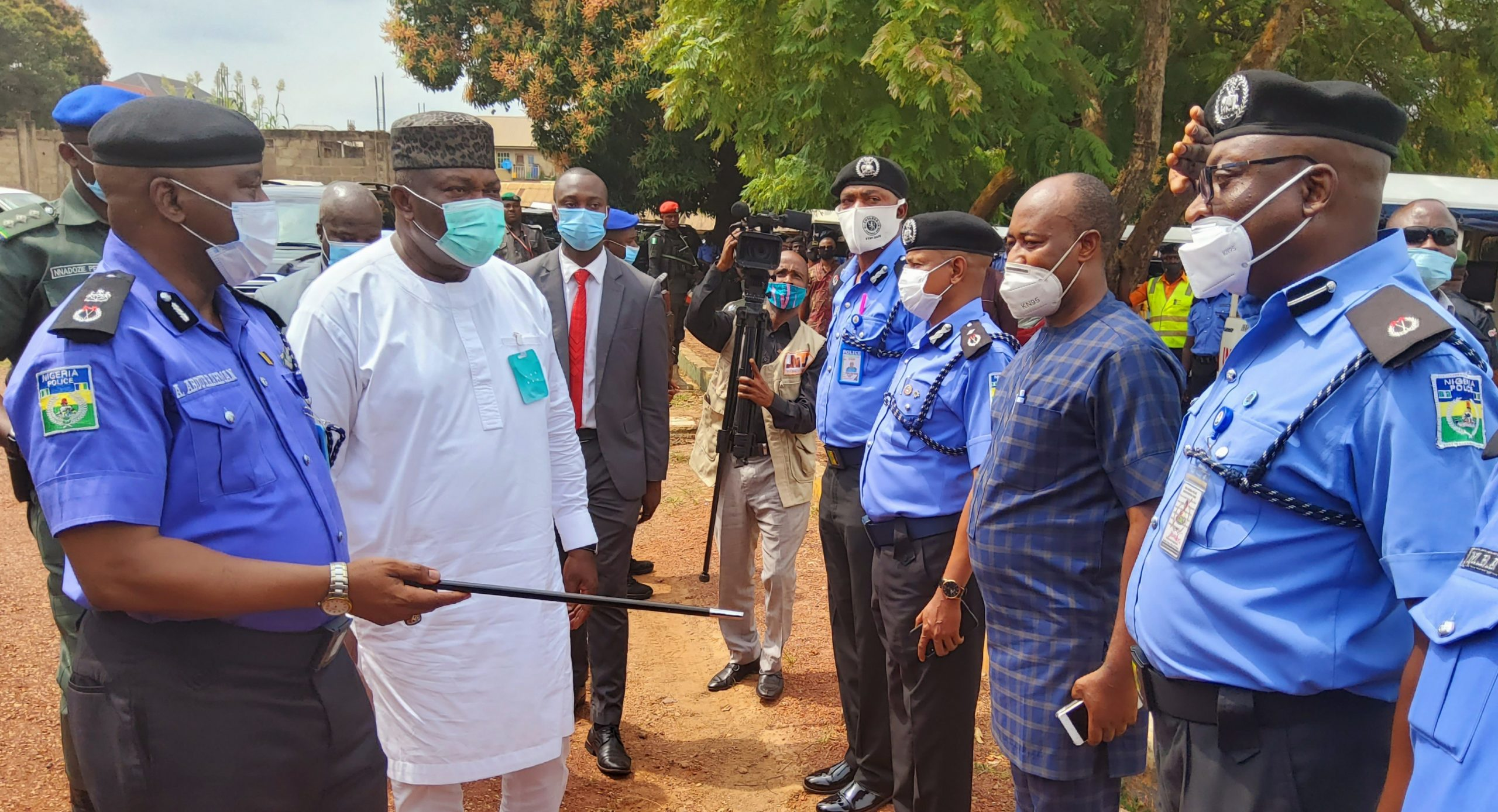 End SARS protests: Gov. Ugwuanyi begs police officers to resume work