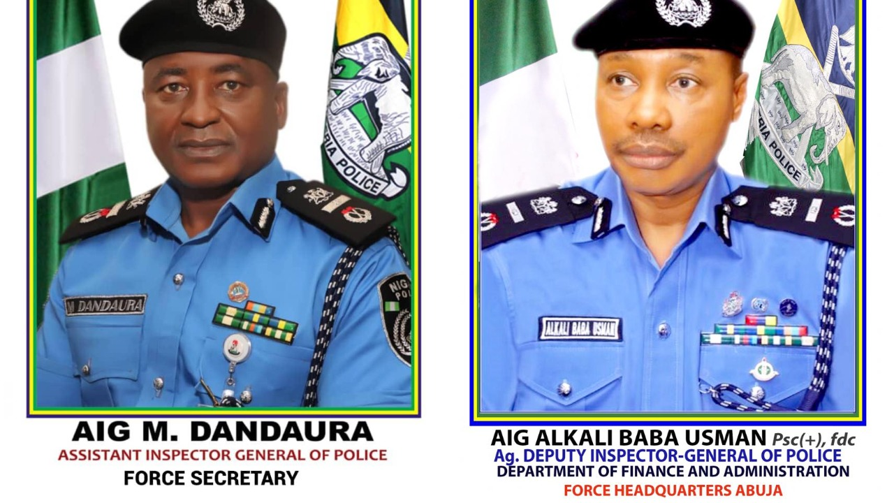 Nigeria Police: IGP appoints new DIG operations, Force Secretary