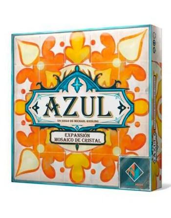 AZUL MOSAICO DE CRISTAL