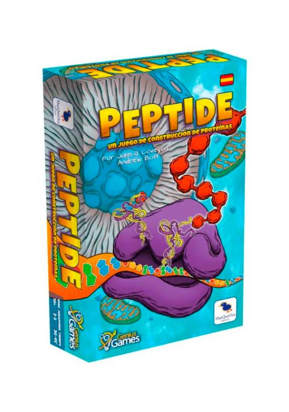Peptide el juego de construcción de proteínas