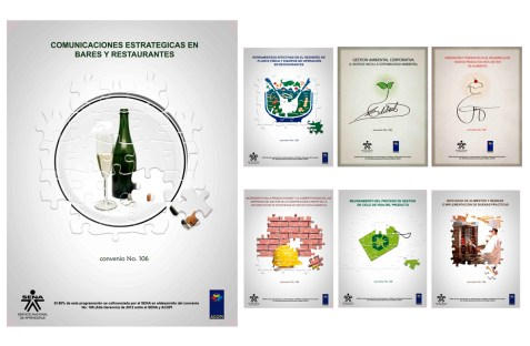 Client: Sena/ Acopi Nacional - Work: Design the covers of the new courses. - Company: Pisón MyP