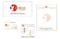 Client: Comestibles colibri LTDA. - Work: Redesigning corporate identity and corporate stationery - Company: Pisón MyP