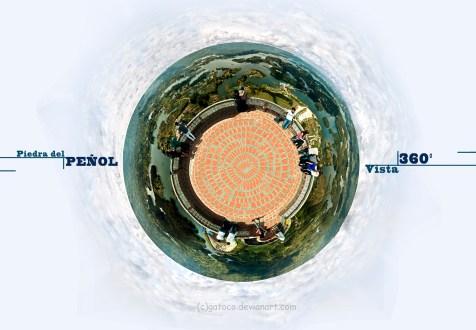 """Panoramic """"Piedra del Peñol"""""""
