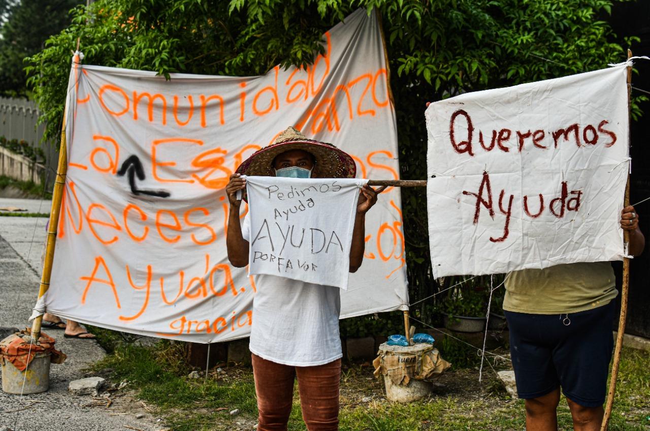 La protesta silenciosa de los pobres que enfrentan con hambre la pandemia