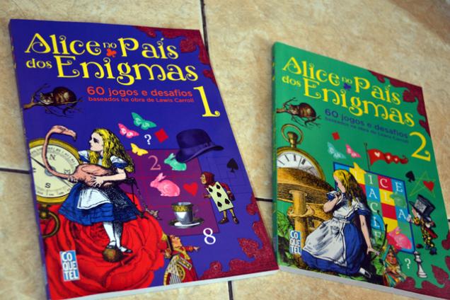 O Gato joga: Alice no País dos Enigmas 1 e 2