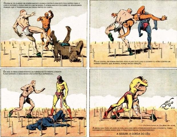 Flash Gordon no Planeta Mongo - Miolo