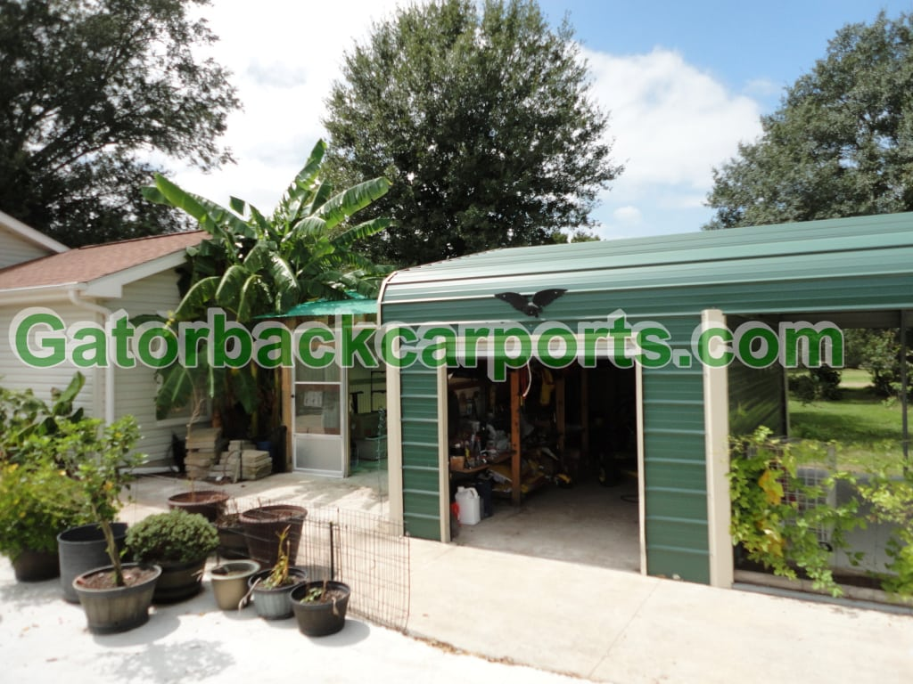 How To Choose A Neutral Carport Color That Blends With Your House Gatorback CarPorts