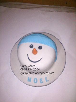 wm snowman cake