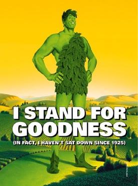 Jolly Green Giant!