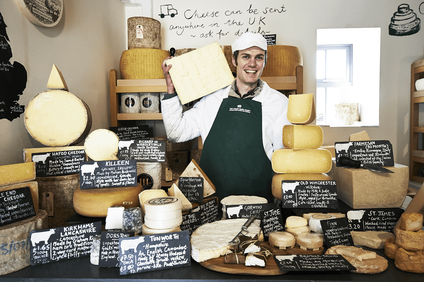 Andy Swinscoe, The Courtyard Dairy recommends the best cheeses to serve with Damson No 12.