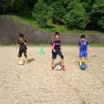 中学生のサッカー