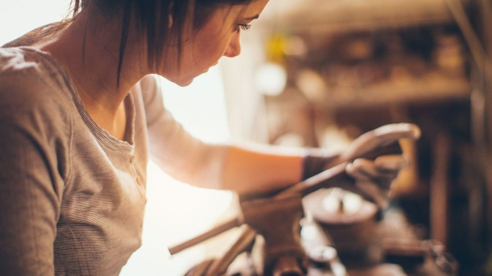 female mechanical engineer