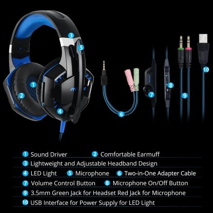 MPOW Gaming Headphones3