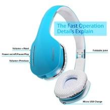 AUSDOM M07 On-Ear Headphones4