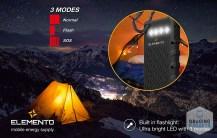 ELEMENTO Solar Charger Portable 16000mAh 4