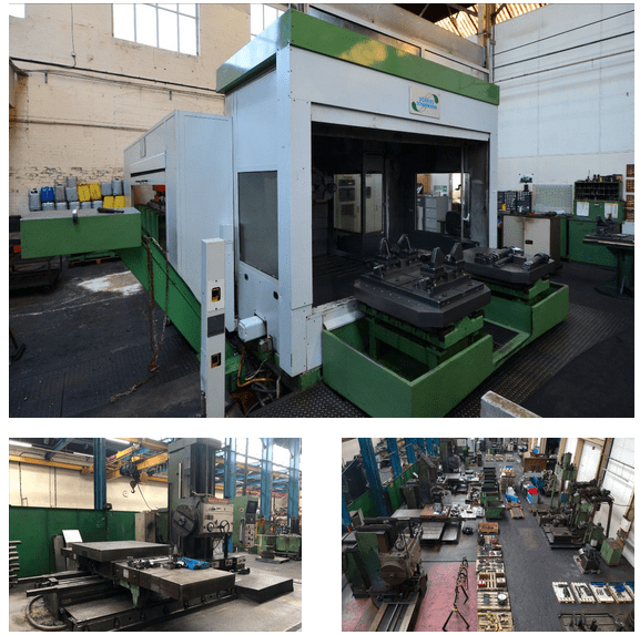 BIDDING LIVE – Heavy Engineering Facility – Online Auction