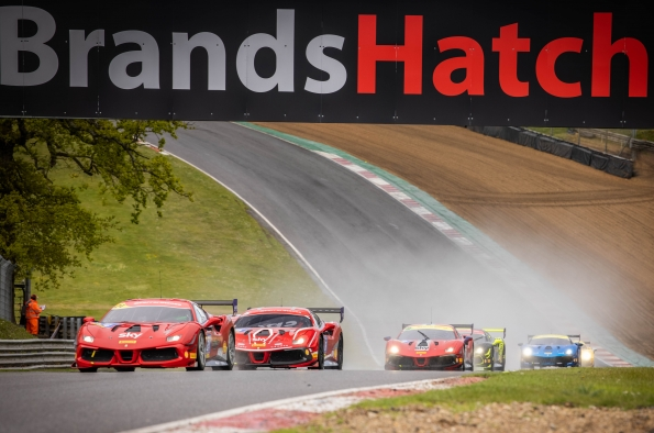 Ferrari Challenge UK – Exciting opening weekend to the season at Brands Hatch