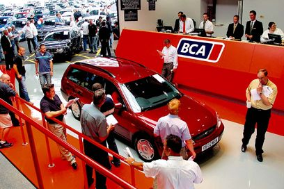 Cars on the auction block