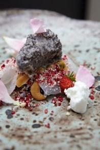 poppyseed icecream nuts blackrice rose