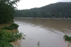 पहिरोले थुनिएको बैद्यनाथ खोला फुट्यो, तल्लो तटिय क्षेत्रलाई ठूलो क्षति