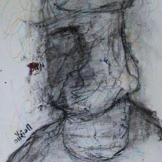 Title: spaghetti mind Medium: Mixed media on watercolour paper. Size: 8.27*11.7 inches (2020) Artist: gaurangi mehta shah