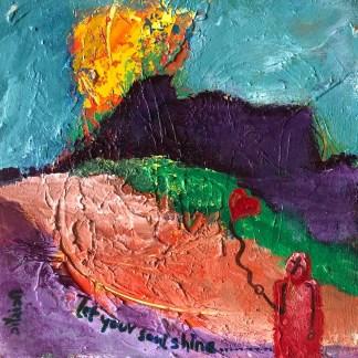 let your soul shine. artist: gaurangi mehta shah
