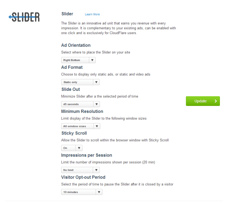 Slider by Cloudflare