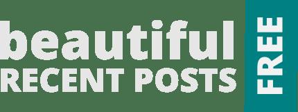 beautiful recent posts widget free