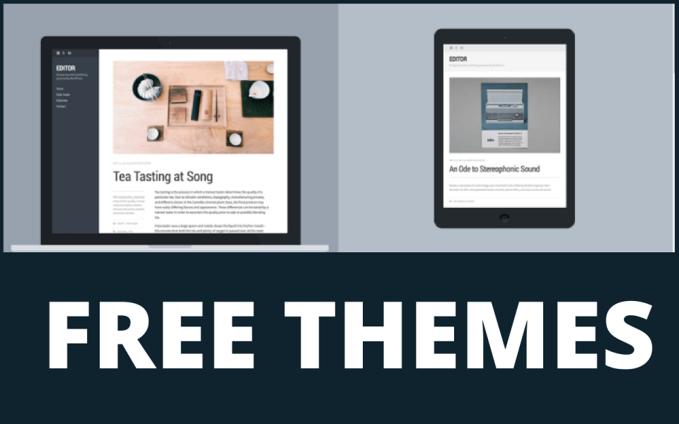 amazing free themes for writers and poets