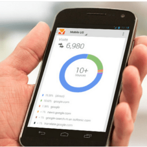 google analytics on mobile