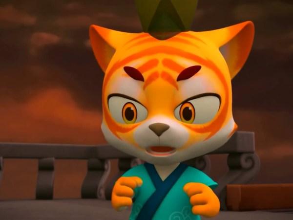 tiger warrior short movie screenshot