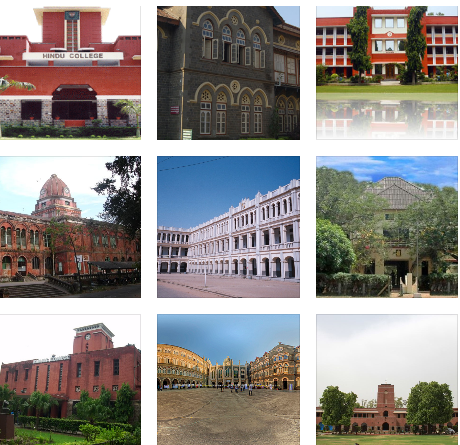 top colleges in india arts